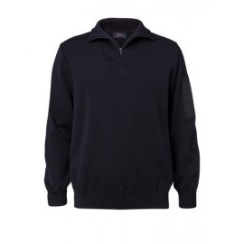 Zip-hals pullover