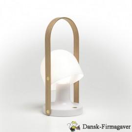 Follow me genopladelig lampe