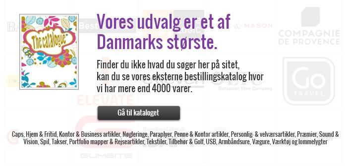 Vores udvalg er et af Danmarks største.