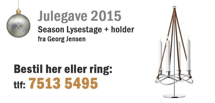 Season Lysestage + holder  fra Georg Jensen
