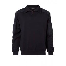 Zip-hals pullover -Chauffør bluse