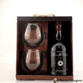"""RUM """"Dos Maderas"""" 5+5 - 40% i gaveæske med 2 glas"""