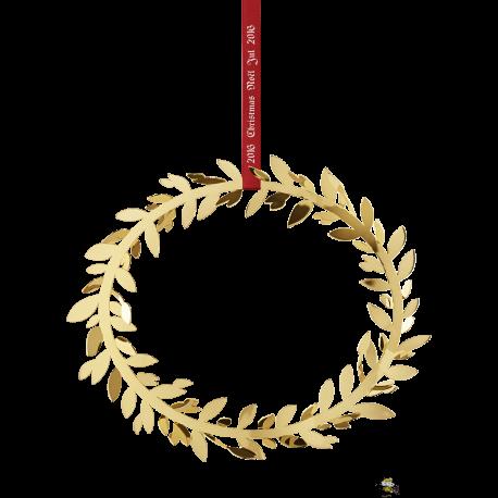 Julekrans Magnolieblade