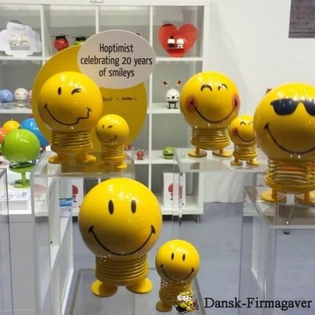 Smiley sprede godt humør - Hoptimist