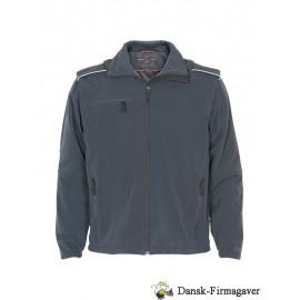 soft shell jakke med aftageligærmer
