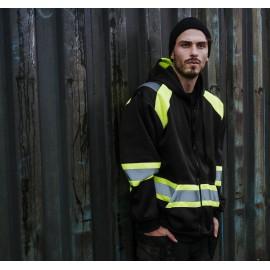Skara sikkerheds jakke med hætte