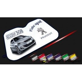 Reklame Jumbo Car Car-Sunshade