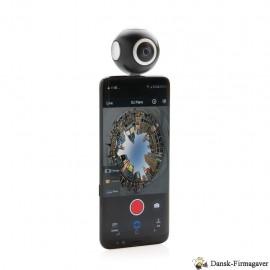 Dobbeltlinset 360 kamera