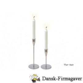 Piet Hein lysestagesæt i stål