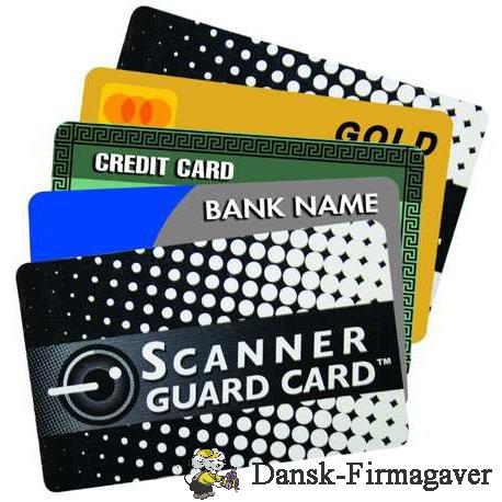 Sikkerheds kort - RFID