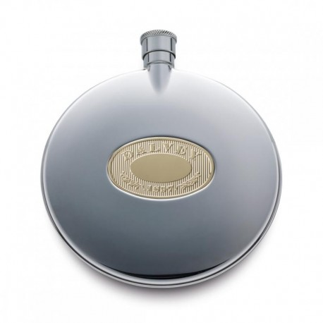 Dalvey Flask Classic med Gold Detail