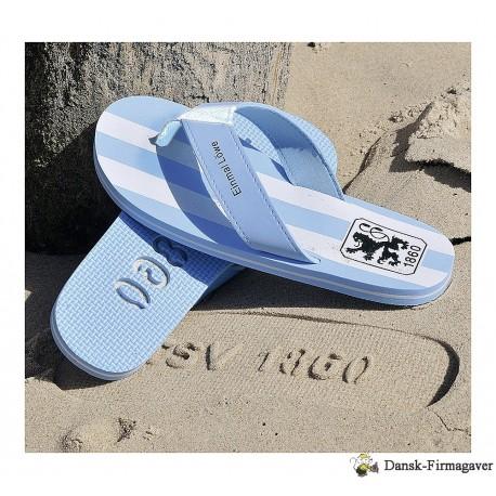 Bade sko med logo