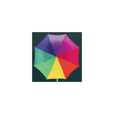 Golfparaply, auto, regnbue