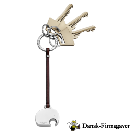 Nøllefant nøglering med kæde