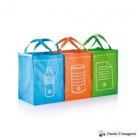 3 stk. genbrugsaffaldsposer