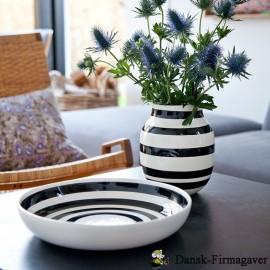 Kähler Omaggio fad  Ø 30 cm + vase 20 cm