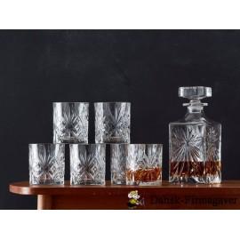 Lyngby Whisky Melodia krystalsæt  7 dele DK11C
