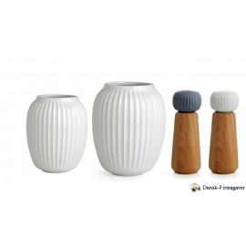 Stor Hammershøi gave pakke vaser + kværne
