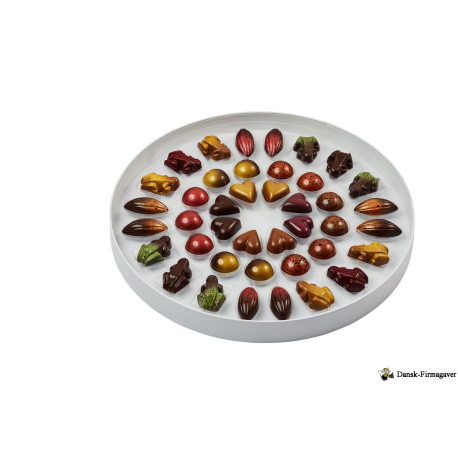 Fyldte Chokolade med 68 stk