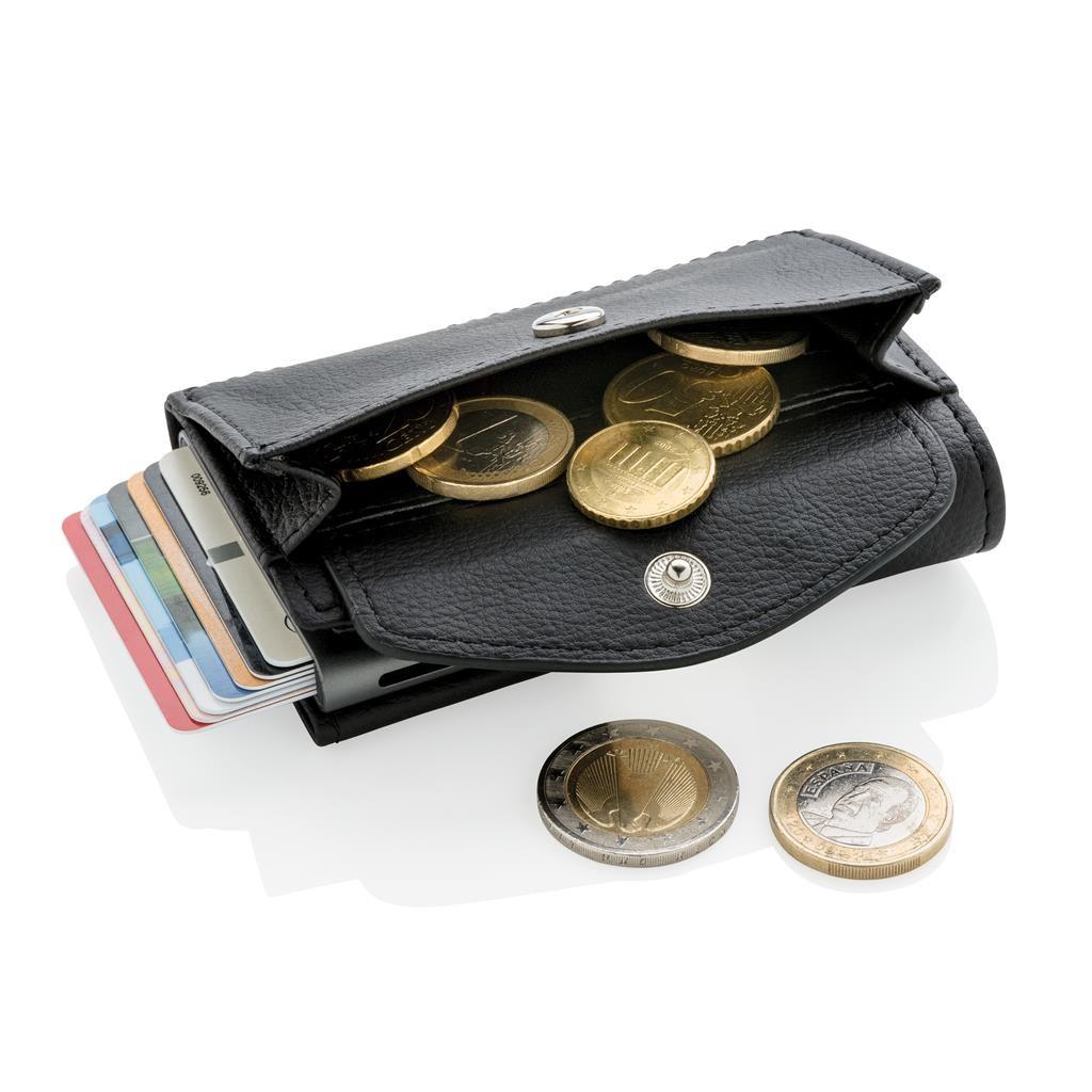 723a0caa75b C-Secure RFID-kortholder og mønt/nøglepung, sort Farve sort
