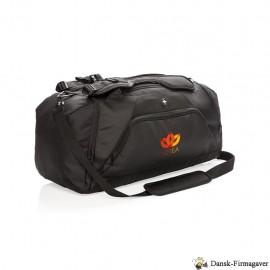 Swiss Peak RFID sportstaske og rygsæk, sort