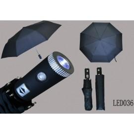 Paraply med lys  led SUN036