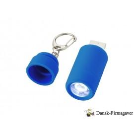 Avior nøglering med USB og genopladelig