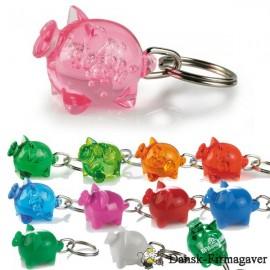 Nøglering som gris