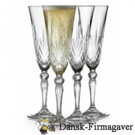 Lyngby champagne glas