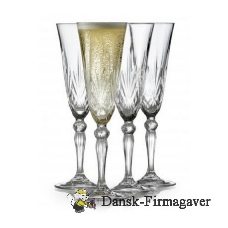 Lyngby champagne glas