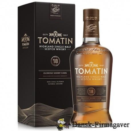 Tomatin 18 år Single Highland Malt Scotch Whisky