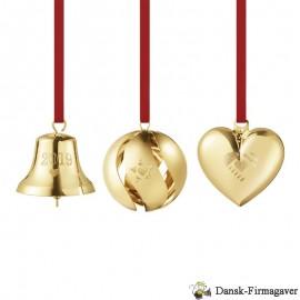 Ornamenter gavesæt - guldbelagt