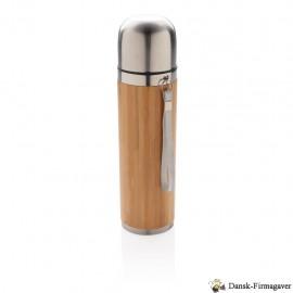 Bambus vakuum rejse flaske