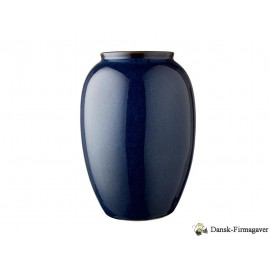 BITZ Vaser Smukke vaser i stentøj med blank reaktiv glasur