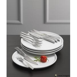 Elegant tallerkner og klassisk steaksæt