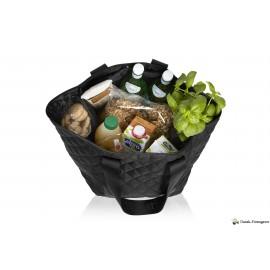 Indkøbstaske af genbrugsplastflasker