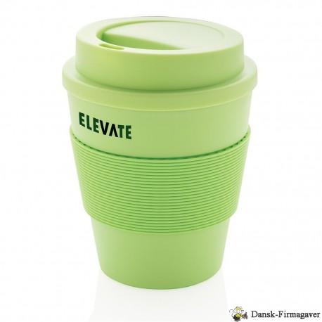 Genbrugelig kaffekop med skruelåg, 350ml
