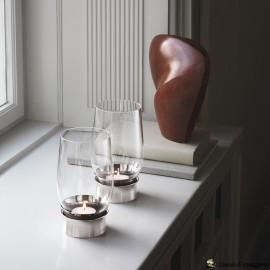 LUMIS Fyrfadslysholder Mundblæst Glas