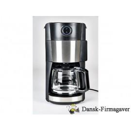 Nordic Sense Kaffemaskine m. kværn 900 watt Sort/Sølv