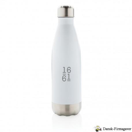 Vakuum isoleret rustfrit stål flaske