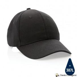 CAP - Impact 6 panels cap, 280 gr genanvendt bomuld, AWARE™ tracer