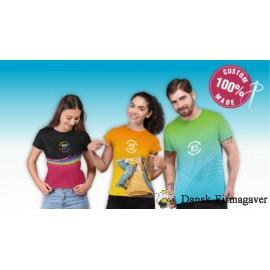 T-shirt med eget design