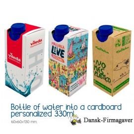 Karton Vand 33 cl