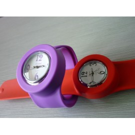 slap silicone watch