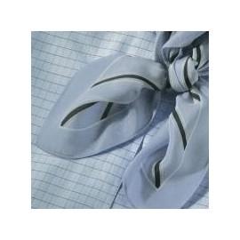 Genova tørklæde, lysblå