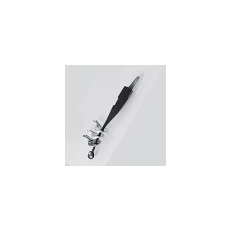 Lomme kniv/nøglering (2 i 1)