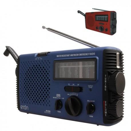 Radio med hånd-swing