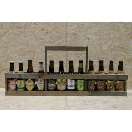 Pallegave i træ 12 x 33 cl Europriske øl