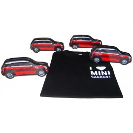 Håndklæde med logo og press som bil