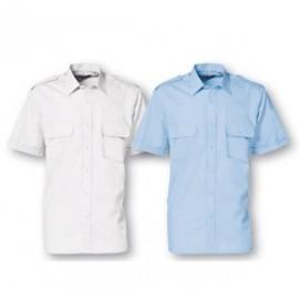 Pilotskjorte, Kortærmet